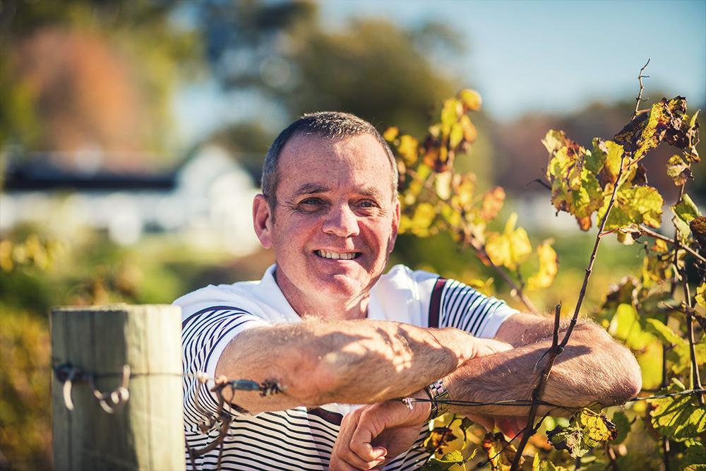 neil bester in the vineyards